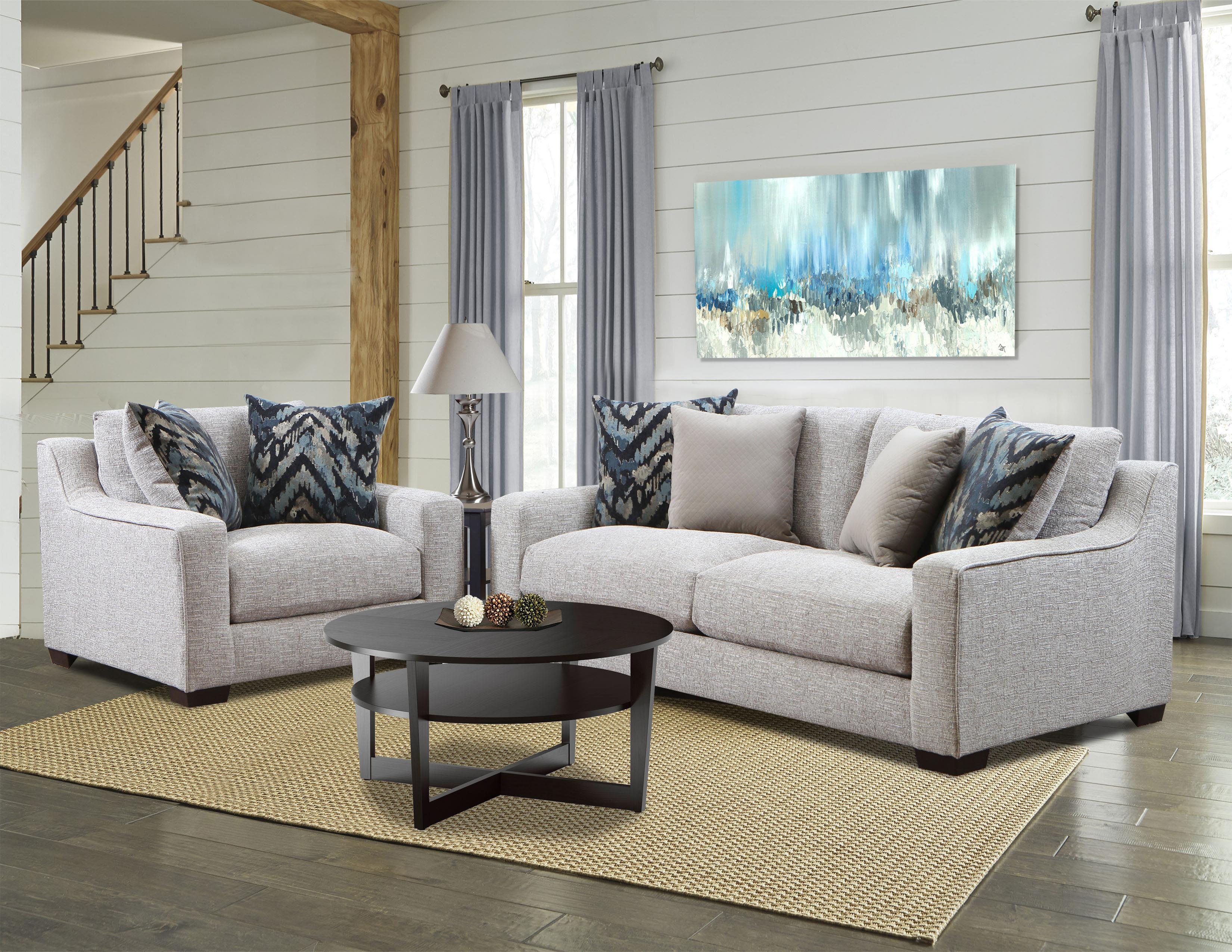 American Furniture 1400 Stationary Living Room Group - Item Number: 1400-2005 Group 1