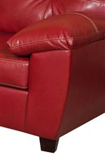 Plush Padded, Pillow-Topped Arms Enhance Sofa Sides with a Casual Comfort