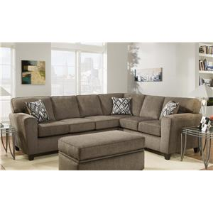 Vendor 610 3100 Sofa with Casual Style