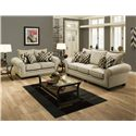 American Furniture 3700 Stationary Living Room Group - Item Number: 3700 Living Room Group 3