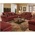 American Furniture 3700 Stationary Living Room Group - Item Number: 3700 Living Room Group 1