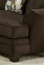 Smooth Lines Give this Collection a Casual Contemporary Look and Welt Cord Trim Supplies it with a Tailored Accent