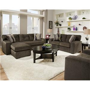 American Furniture 5100 Group Stationary Living Room Group  sc 1 st  Wilcox Furniture : american furniture sectional - Sectionals, Sofas & Couches