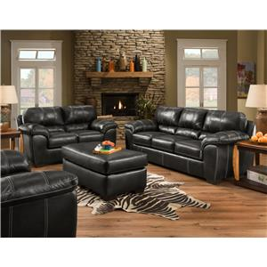 American Furniture 5450 Casual Sofa Miskelly Furniture