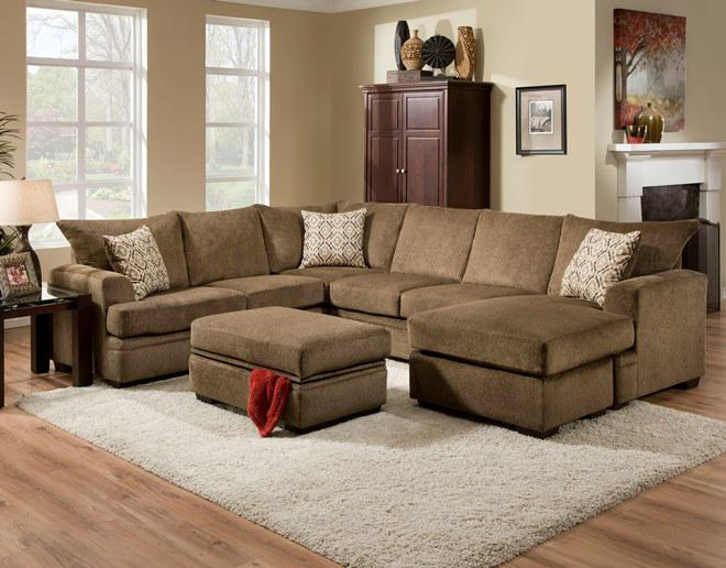 American Furniture 6800 Stationary Living Room Group - Item Number: 6800 Living Room Group 2