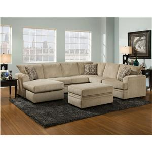 Vendor 610 6800 Stationary Living Room Group