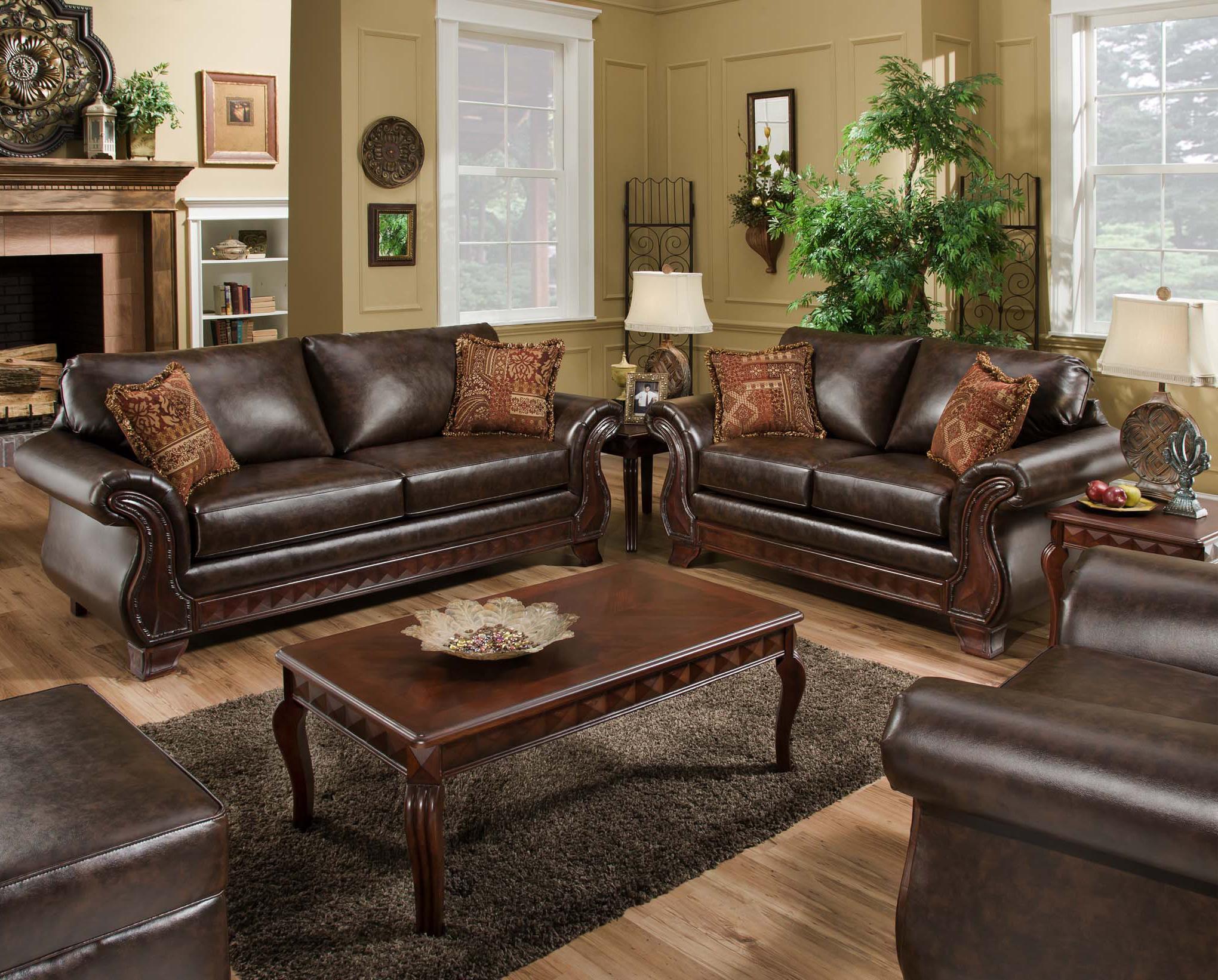 American Furniture 6900 Stationary Living Room Group Prime Brothers Furniture Stationary