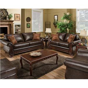 American Furniture 6900 Stationary Living Room Group