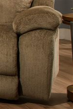 Thick Pillow Arm Rests Add Comfort and Casual Style