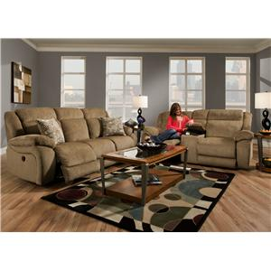 American Furniture AF330 Reclining Living Room Group