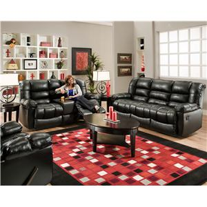 American Furniture AF550 Group Reclining Living Room Group
