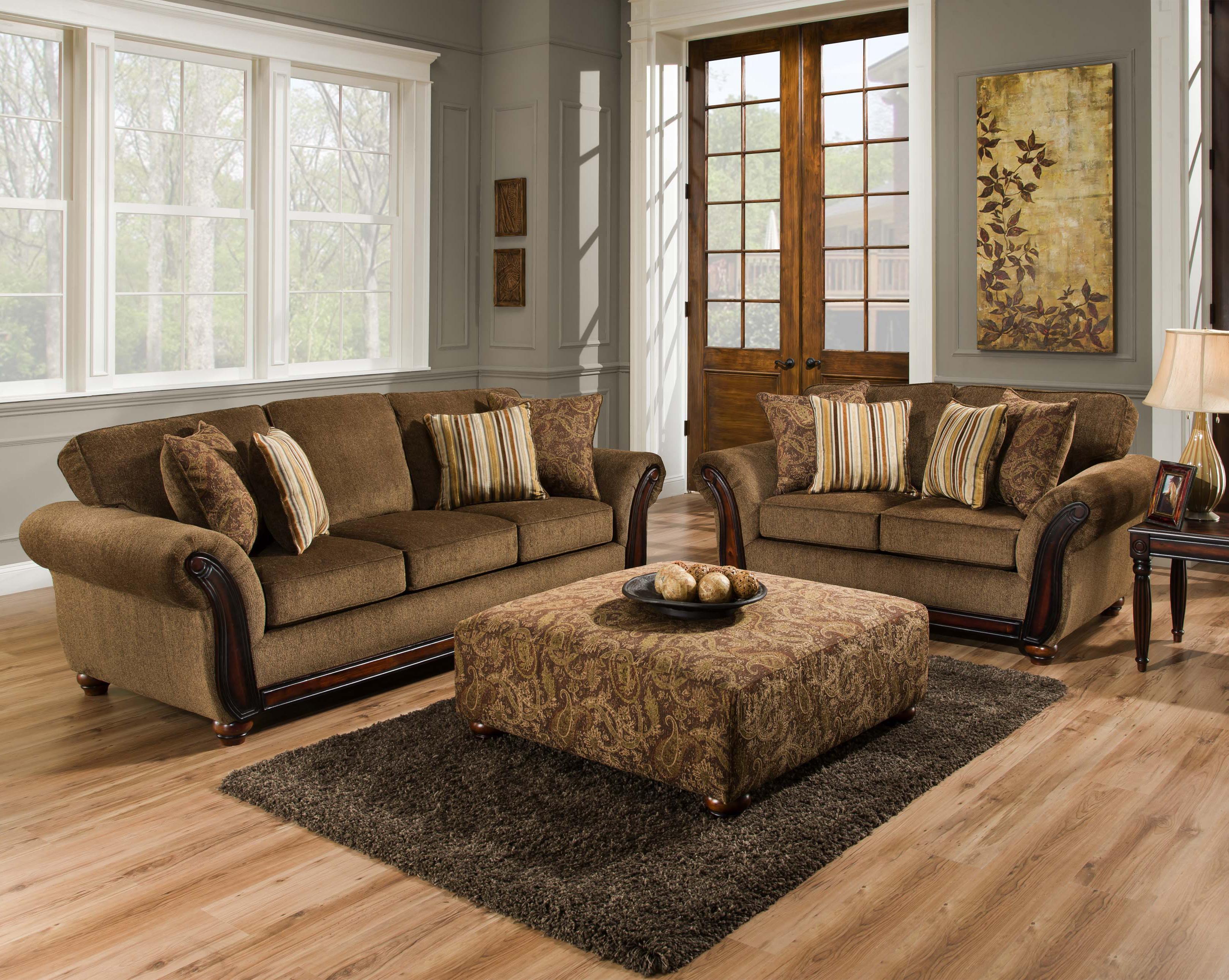American Furniture 5650 Stationary Living Room Group Furniture Fair North Carolina