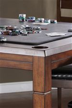 Flip Top Table with Game Playing Surface