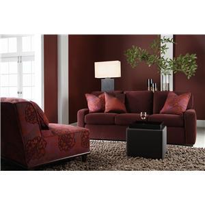 American Leather Carson Leather Sofa Sleeper Saugerties Furniture Mart Sleeper Sofas