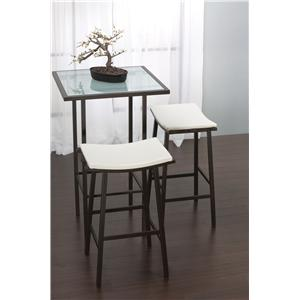 Amisco Aden Dinette Nathan Bar Height Stool