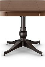 Amisco Customizable Dining Parade Dining Table With Metal