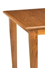 Bevel Edge Rectangular Table Top