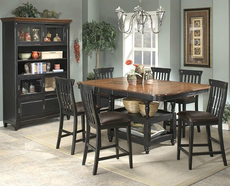 APA By Whalen Clearbrook Counter Height Table W/ Butterfly Leaf    BigFurnitureWebsite   Pub Table