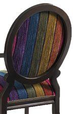 Rich Materials Like Rainbow Strie Velvet Upholstery