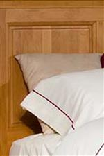 Raised Panel Headboard Provides Some Additional Detailing