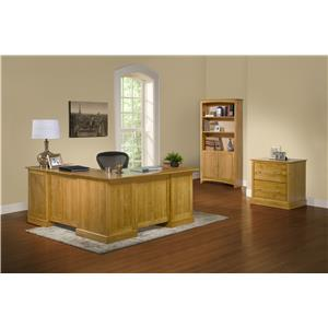Archbold Furniture Alder Shaker King Bedroom Group 2