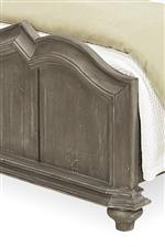 Shaped Perimeter Molding on Footboards