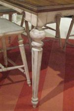 Fully Turned Octagonal Posts with Bulb Detail at Top and Bottom