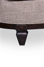 Sofa Tapered Wood Leg