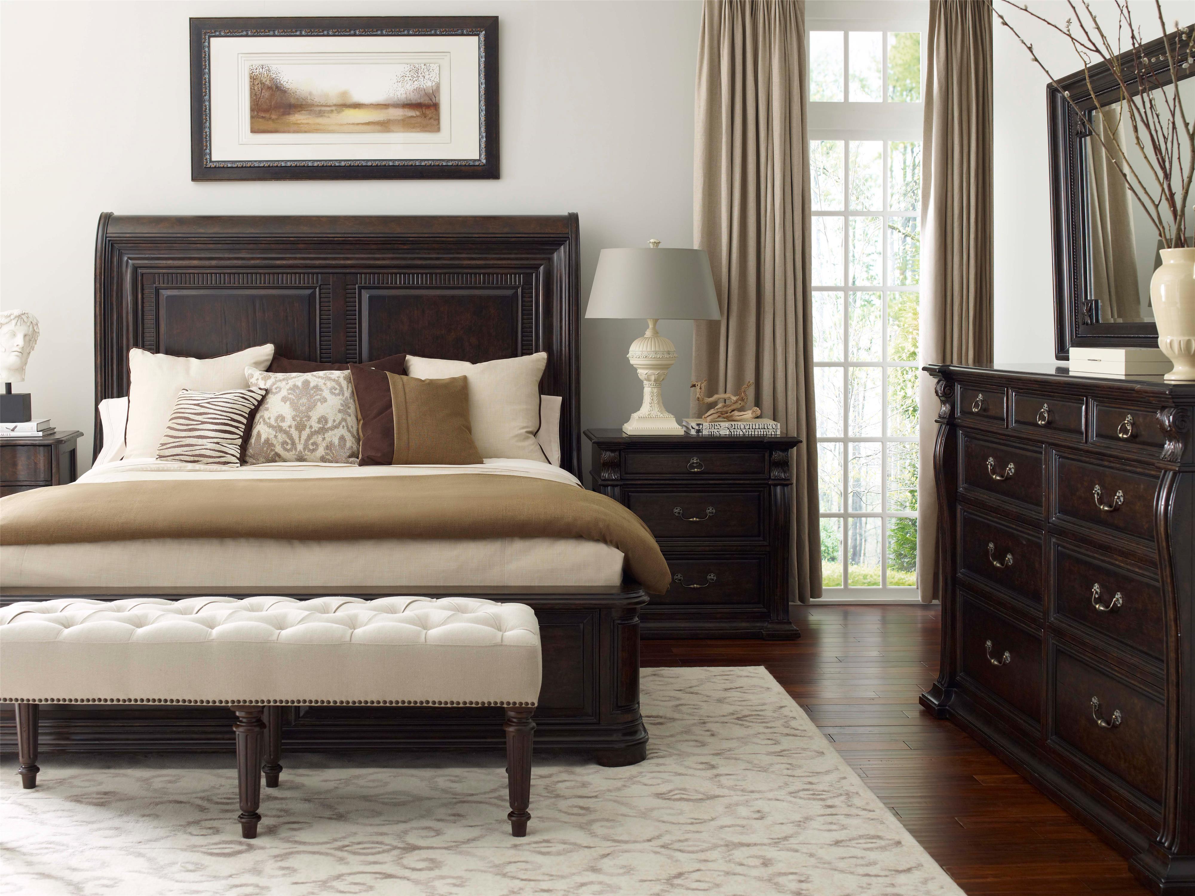 Belfort Signature Belle Haven King Bedroom Group - Item Number: 21700-2615 K Bedroom Group 1