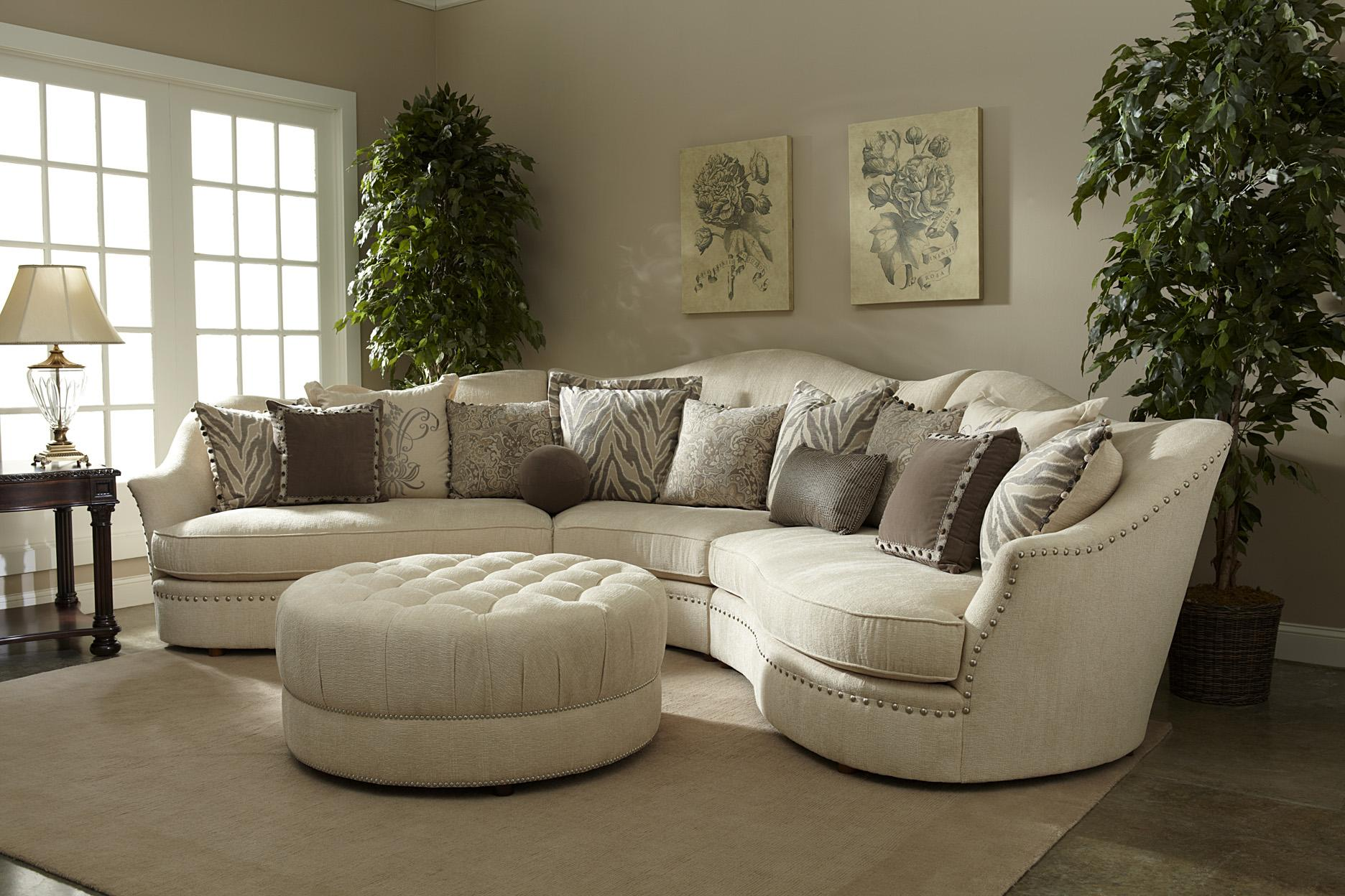 A R T Furniture Inc Cotswold Amanda Ivory Sofa With Camel Back And Down Blend Seat Cushion Boulevard Home Furnishings
