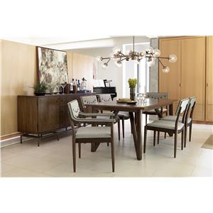 Belfort Signature Urban Treasures Formal Dining Room Group