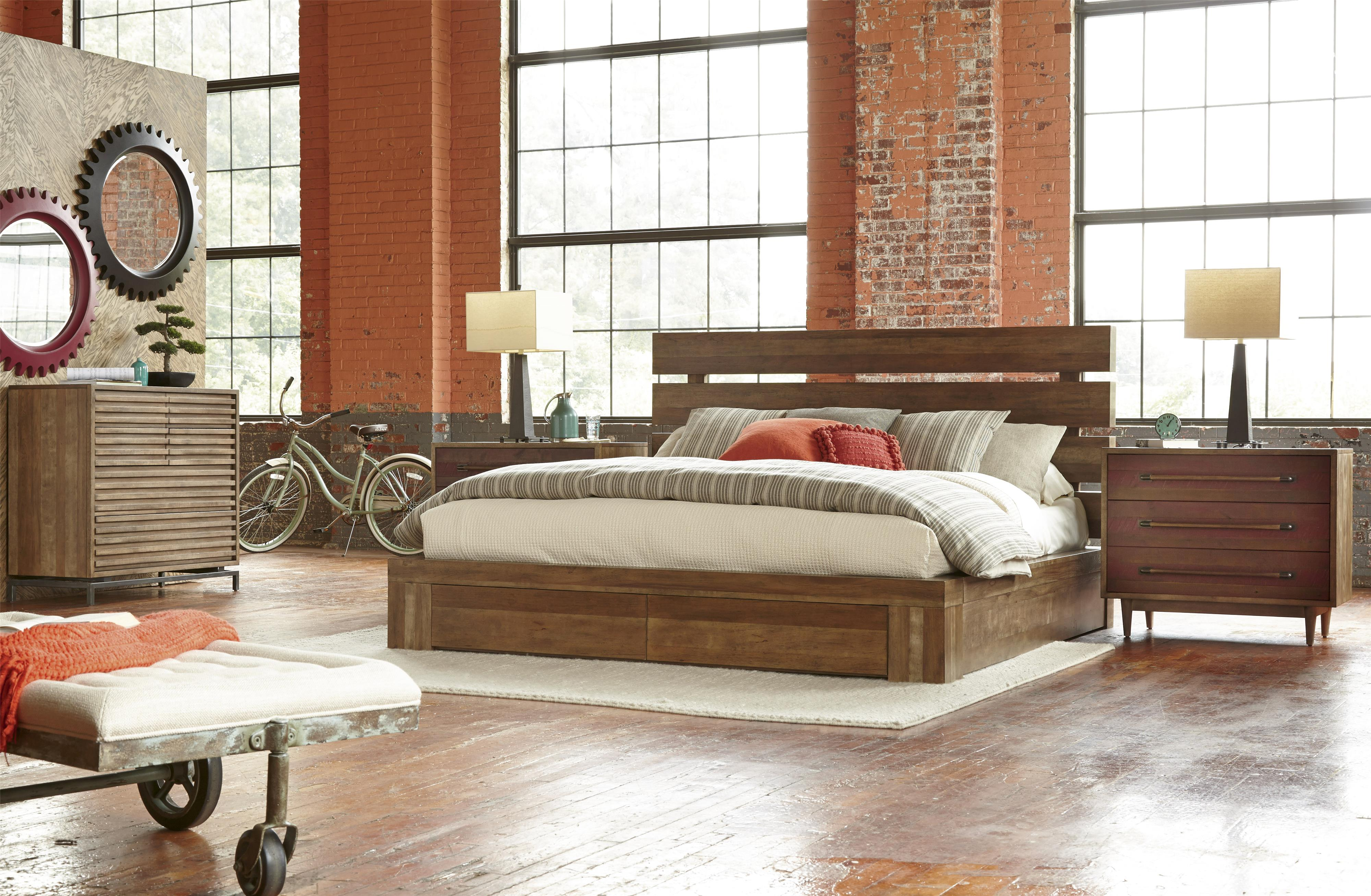 Belfort Signature Urban Treasures King Bedroom Group - Item Number: 223000-2302 K Bedroom Group 2