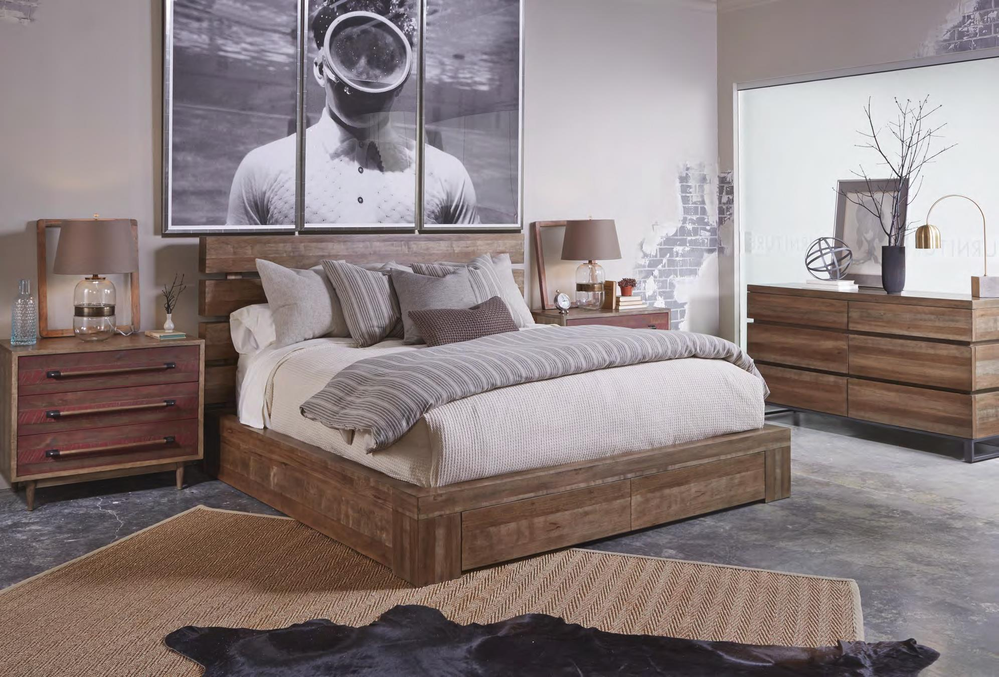 Belfort Signature Urban Treasures King Bedroom Group - Item Number: 223000-2302 K Bedroom Group 3