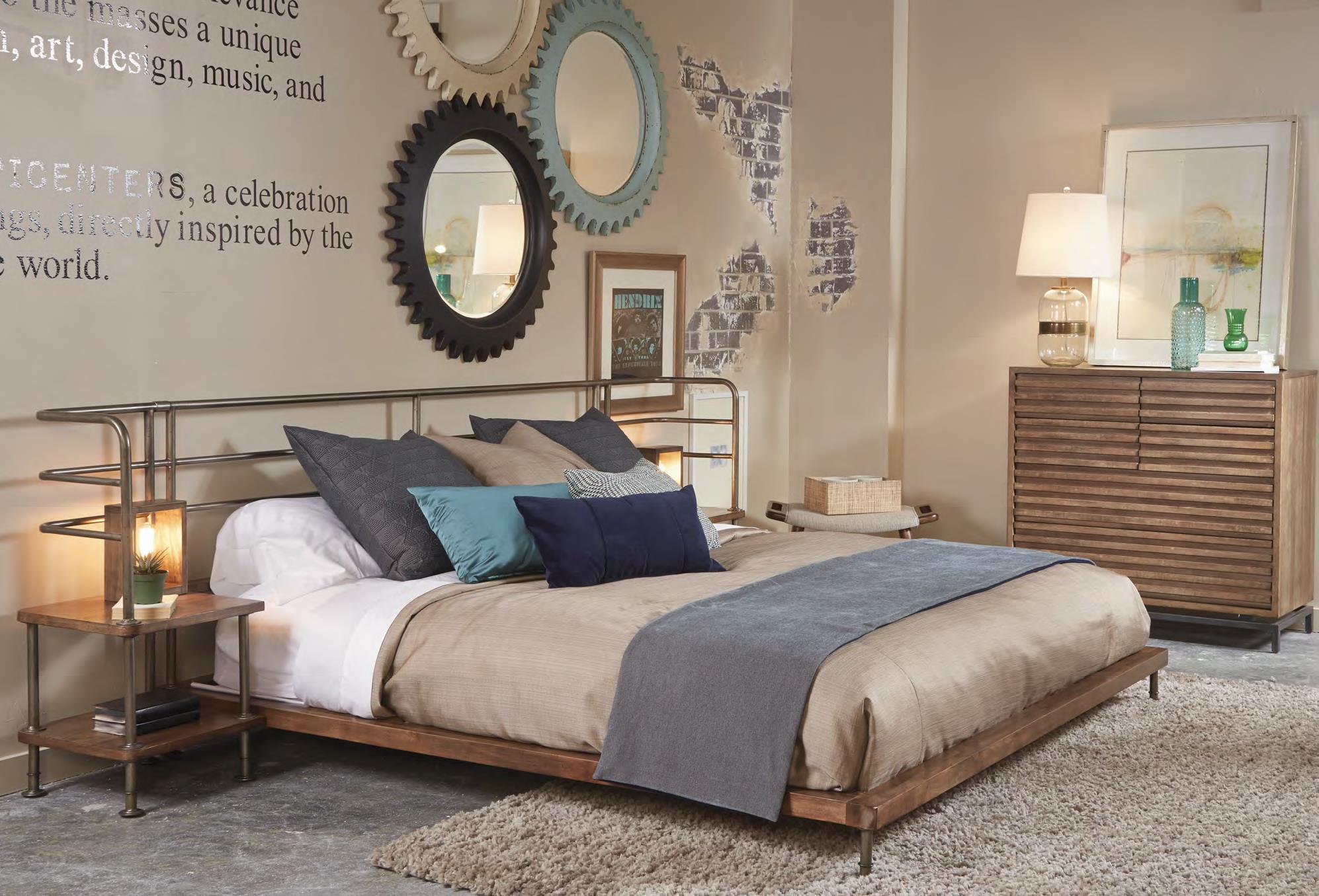 Belfort Signature Urban Treasures King Bedroom Group - Item Number: 223000-2302 K Bedroom Group 5