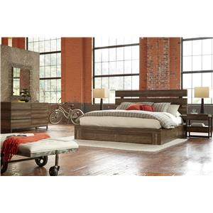 Belfort Signature Urban Treasures Queen Bedroom Group