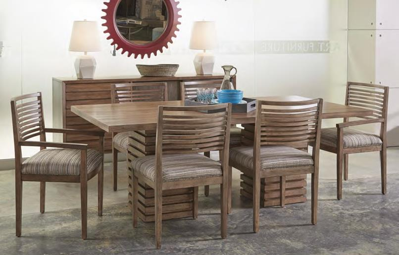 Belfort Signature Urban Treasures Formal Dining Room Group - Item Number: 223000-2302 Dining Room Group 4
