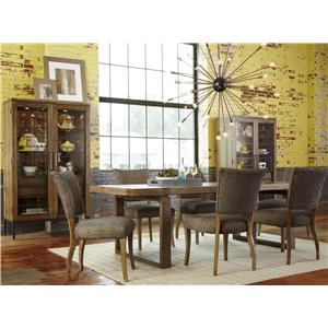 Belfort Signature Urban Treasures Casual Dining Room Group