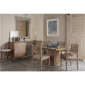 A.R.T. Furniture Inc Epicenters Formal Dining Room Group