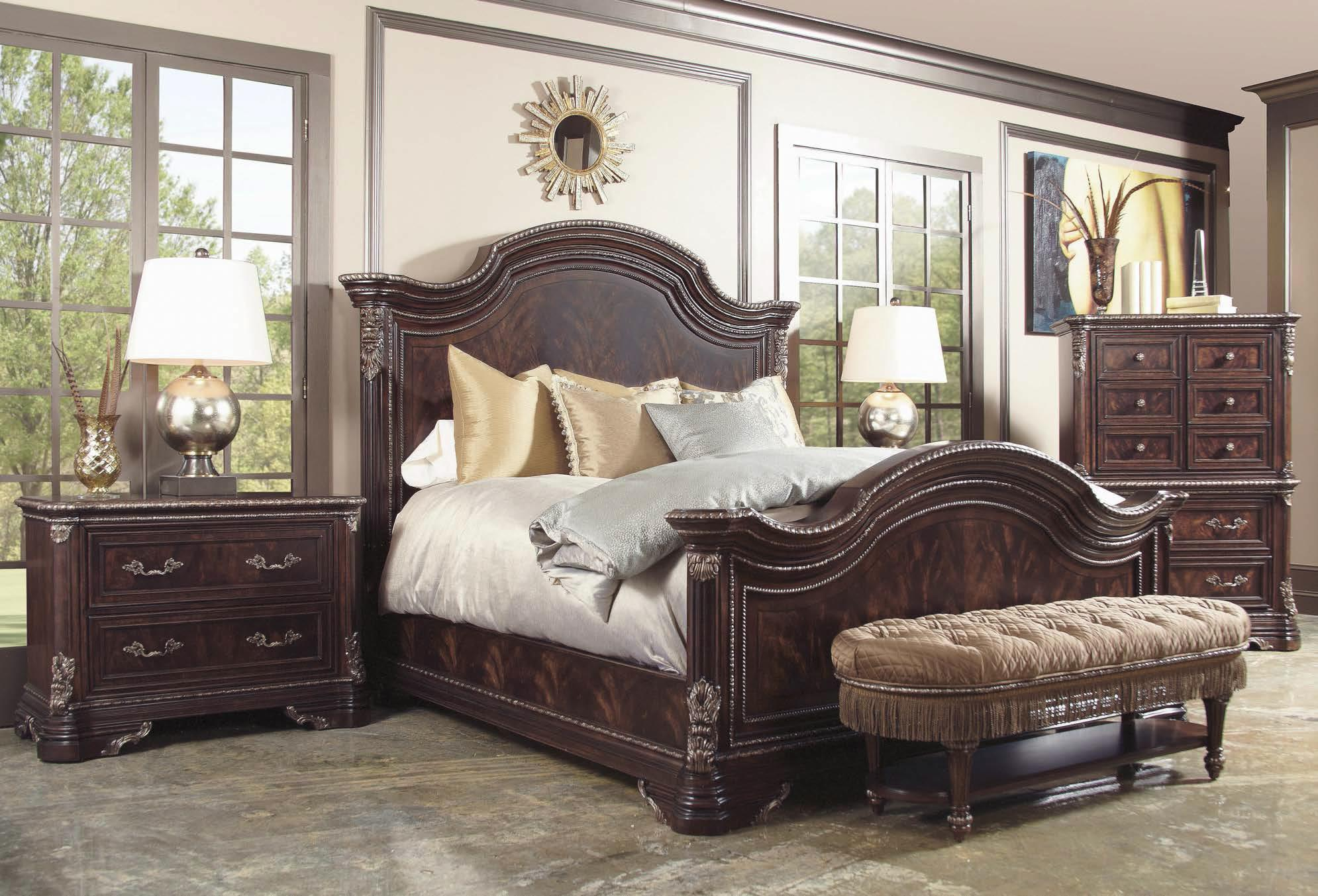 a r t furniture inc gables king bedroom group olinde s 11074 | collections 2fart furniture inc 2fgables 245000 1707 bhf b1
