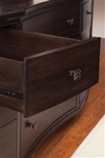 Each Drawer Finished with a High Quality UV Coating for Protection of Delicates