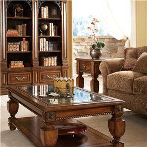 A.R.T. Furniture Inc Marbella Rectangular Double Pedestal Dining Table
