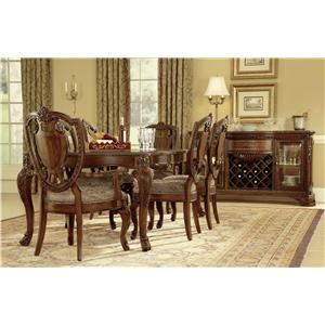 Belfort Signature Overture Formal Dining Room Group