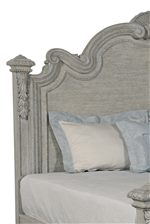 Estate Bed with Shaped Headboard