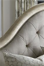 Luxurious Tufting on Upholstered Headboard