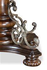 Wrought Iron Metal Detail
