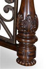 Hand-Carved Wood Detail