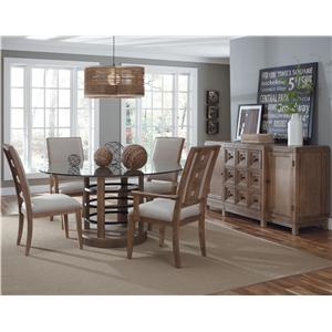 Belfort Signature Madera Dining Room Group