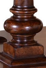 Handsome Pedestal Design