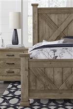 Artisan & Post Cool Rustic Queen Bedroom Group