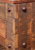 Bold Rivets and Mortise and Tenon Construction
